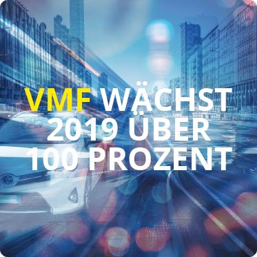 VMF waechst 2019 ueber 100 Prozent
